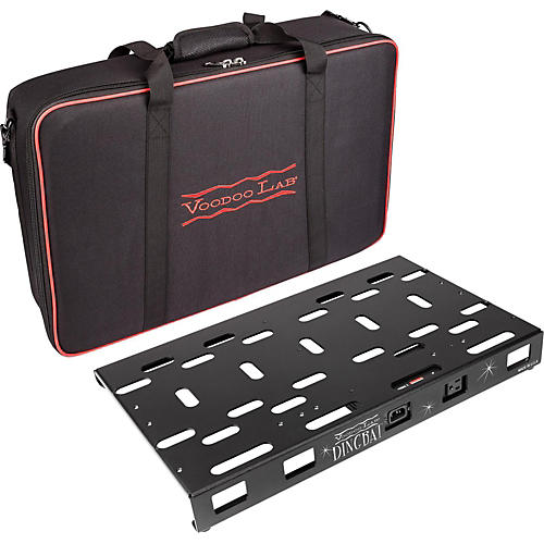 Voodoo Lab Dingbat Medium Pedalboard Power Package with Pedal Power 2 PLUS
