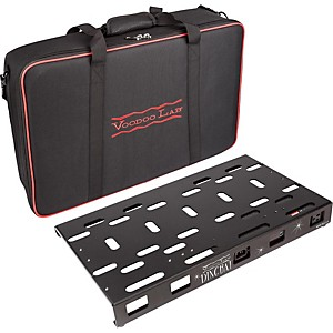 Voodoo Lab Dingbat Medium Pedalboard Power Package with Pedal Power MONDO by Voodoo Lab
