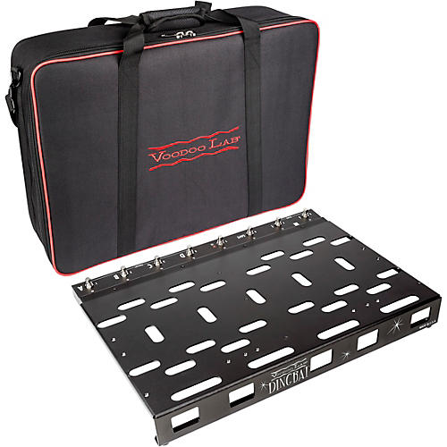 Voodoo Lab Dingbat PX Pedalboard with PX-8 PLUS Pedal Switcher-thumbnail