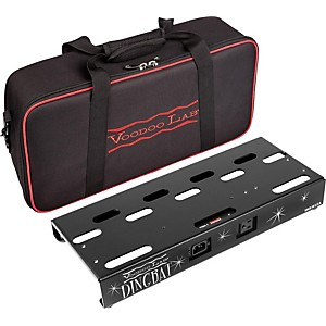 Voodoo Lab Dingbat Small Pedalboard Power Package with Pedal Power 2 PLUS by Voodoo Lab