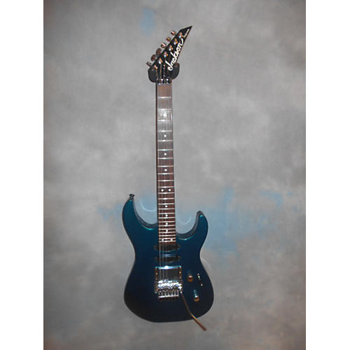 Jackson Dinky HSS Solid Body Electric Guitar Blue Green