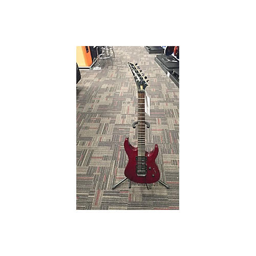 Jackson Dinky Standard Solid Body Electric Guitar Trans Red
