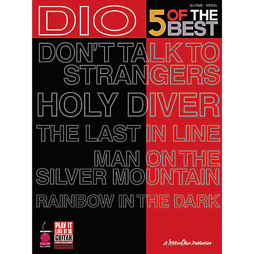 Cherry Lane Dio - 5 of the Best Guitar Tab Songbook