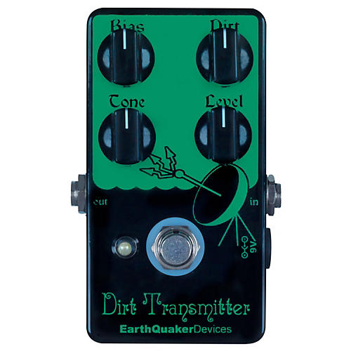 Earthquaker Devices Dirt Transmitter Fuzz Guitar Effects Pedal-thumbnail
