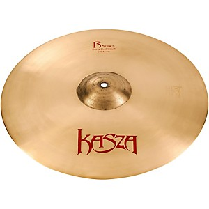 Kasza Cymbals Dirty Bell Rock Crash Cymbal by