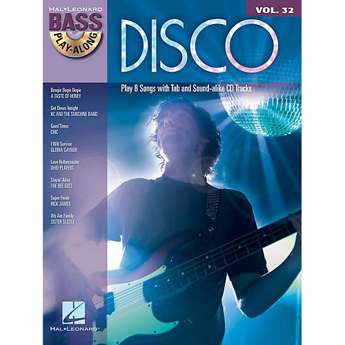 Hal Leonard Disco - Bass Play-Along Volume 32 (Book/CD)