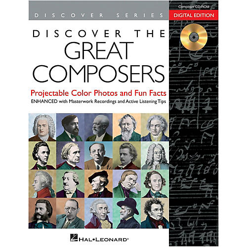Hal Leonard Discover The Great Composers: Digital W/Recordings CD-ROM-thumbnail