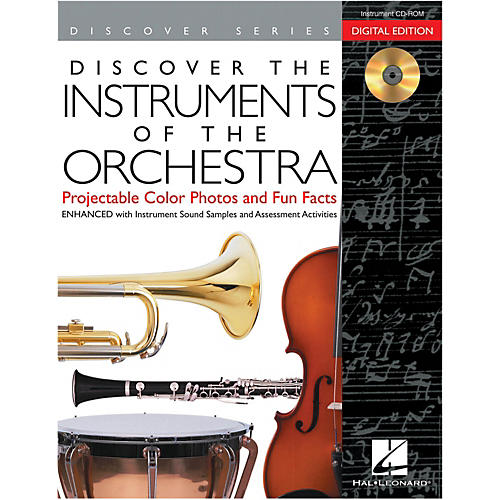 Hal Leonard Discover The Instruments Of The Orchestra: Digital Version CD-ROM-thumbnail