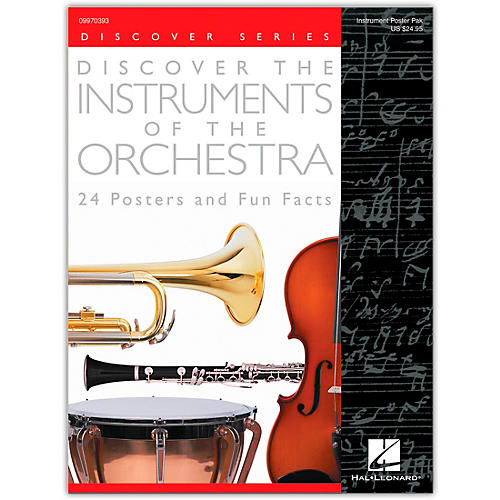 Hal Leonard Discover the Instruments of the Orchestra Posters-thumbnail
