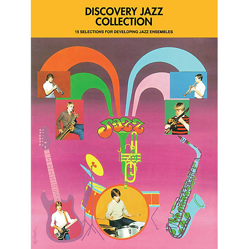 Hal Leonard Discovery Jazz Collection - Trombone 3 Jazz Band Level 1-2 Composed by Various