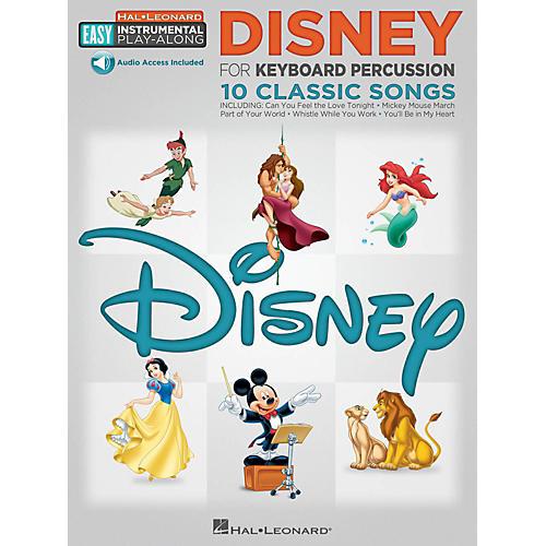 Hal Leonard Disney - Keyboard Percussion -Easy Instrumental Play-Along Book with Online Audio Tracks