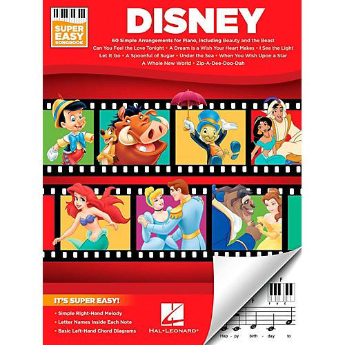 Hal Leonard Disney - Super Easy Songbook