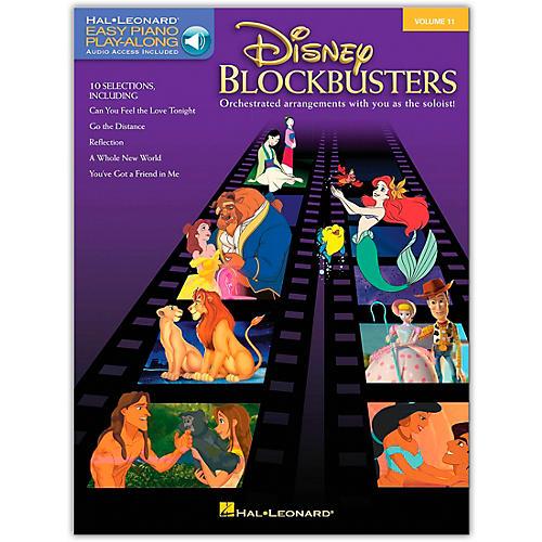 Hal Leonard Disney Blockbusters - Easy Piano CD Play-Along Volume 11 Book/CD