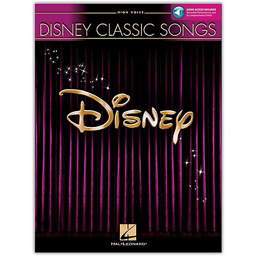 Hal Leonard Disney Classic Songs for High Voice Book/CD-thumbnail