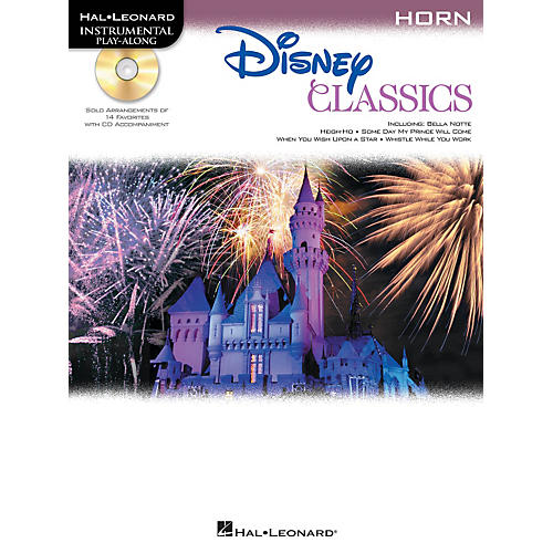 Hal Leonard Disney Classics Instrumental Play Along (Book/CD)-thumbnail