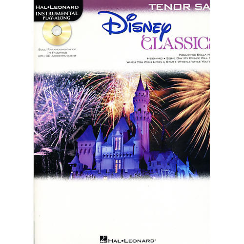 Hal Leonard Disney Classics Instrumental Play Along (Book/CD) Tenor Sax