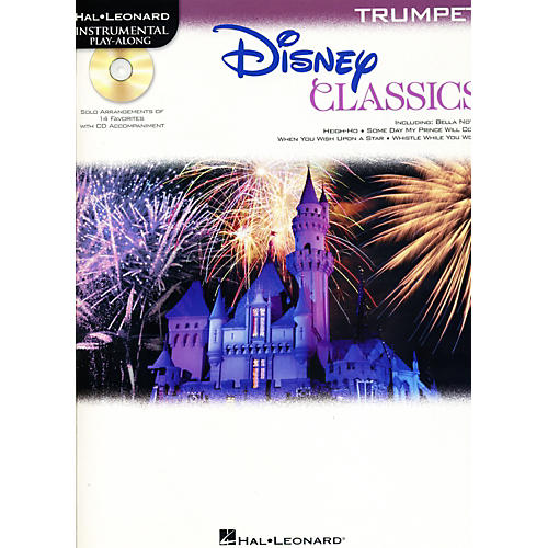 Hal Leonard Disney Classics Instrumental Play Along (Book/CD) Trumpet