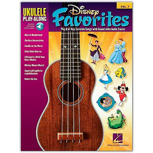 Hal Leonard Disney Favorites - Ukulele Play-Along Vol. 7 Book/CD