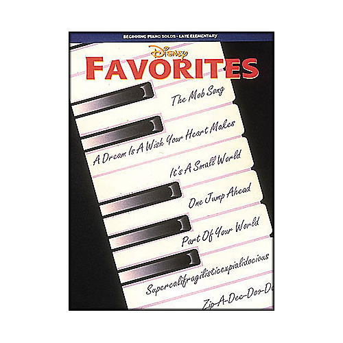 Hal Leonard Disney Favorites Beginning Piano Solos Late Elementary