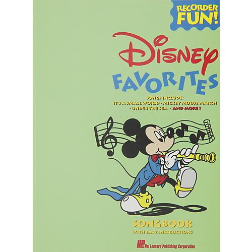 Hal Leonard Disney Favorites Recorder Songbook-thumbnail