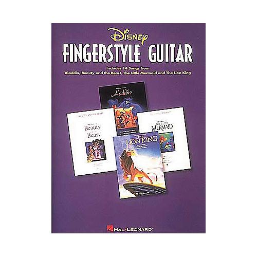 Hal Leonard Disney Fingerstyle Guitar Piano/Vocal/Guitar Artist Songbook