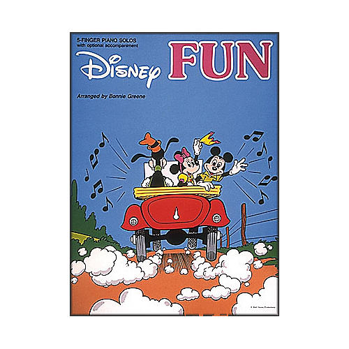 Hal Leonard Disney Fun for Five Finger Piano with Optional Accompaniment