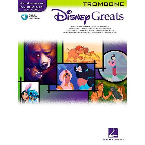 Hal Leonard Disney Greats for Trombone Book/CD Instrumental Play-Along