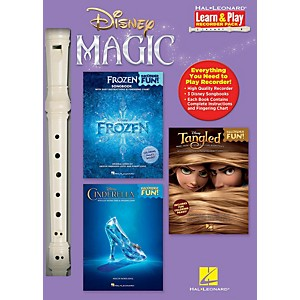 Hal Leonard Disney Magic - Learn and Play Recorder Pack includes Frozen/Tangl... by Hal Leonard