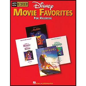 Hal Leonard Disney Movie Favorites Lets Play Recorder! by Hal Leonard