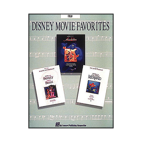 Hal Leonard Disney Movie Favorites for Cello-thumbnail