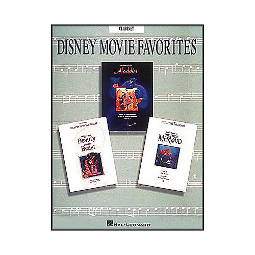 Hal Leonard Disney Movie Favorites for Clarinet