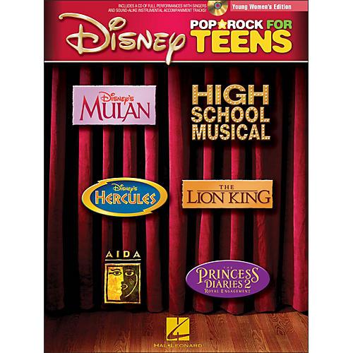 Hal Leonard Disney Pop/Rock for Teens - Young Women's Edition Book/CD-thumbnail