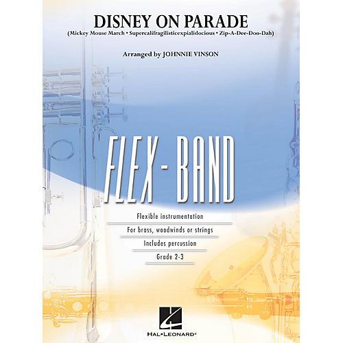 Hal Leonard Disney on Parade Concert Band Level 2-3 Arranged by Johnnie Vinson
