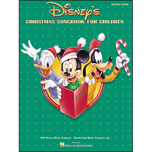 Hal Leonard Disney's Christmas Songbook for Children for Big Note Piano-thumbnail