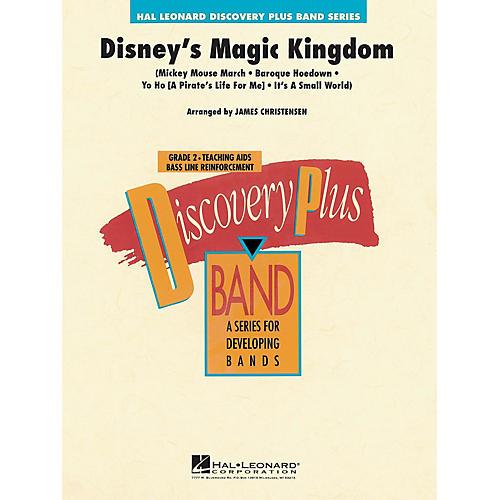 Hal Leonard Disney's Magic Kingdom - Discovery Plus Concert Band Series Level 2 arranged by James Christensen