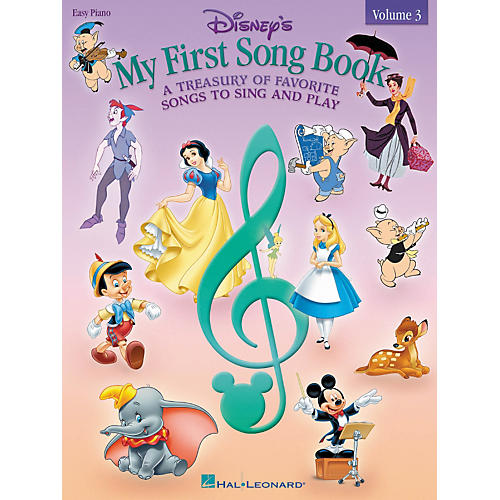 Hal Leonard Disney's My First Songbook Volume 3 For Easy Piano-thumbnail