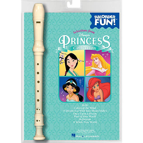 Hal Leonard Disney's Princess Collection  Recorder Fun! Pack