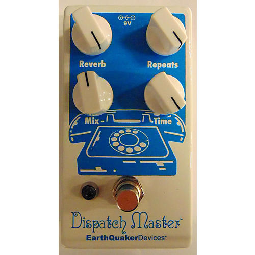 how to use delay pedal as reverb