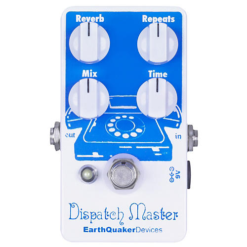 EarthQuaker Devices Dispatch Master Delay and Reverb Guitar Effects Pedal