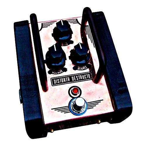 Copper Gear Distorta Destructo -True Analog Silicon Fuzz Pedal with Bias Control-thumbnail