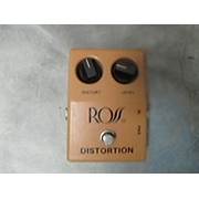 Ross Distortion Effect Pedal