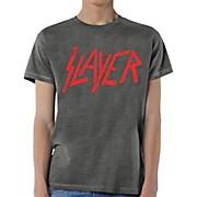 Slayer Distressed Logo T-Shirt