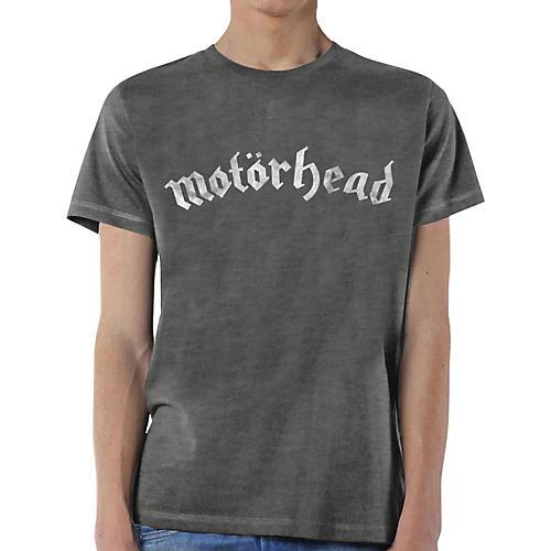 Motorhead Distressed Logo T-Shirt X Large Gray