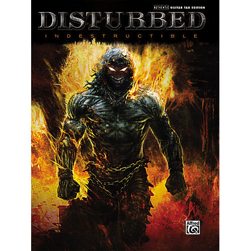 Hal Leonard Disturbed Indestructible Guitar TAB-thumbnail