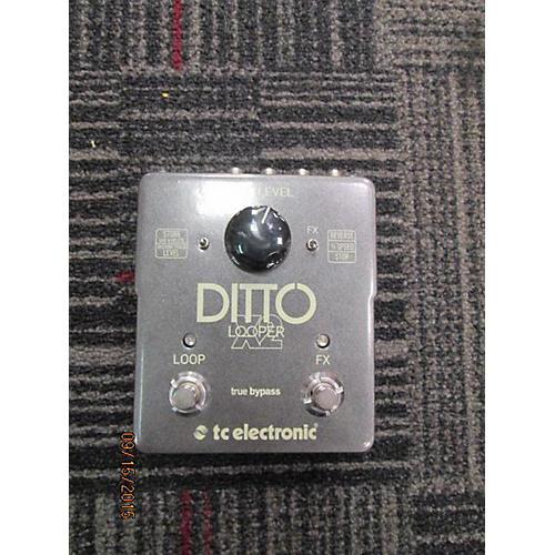 TC Electronic Ditto Looper X2 Pedal-thumbnail