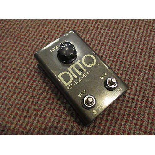 TC Helicon Ditto Mic Looper Pedal-thumbnail