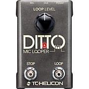 TC Helicon Ditto Mic Looper Pedal