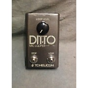 TC Helicon Ditto Pedal