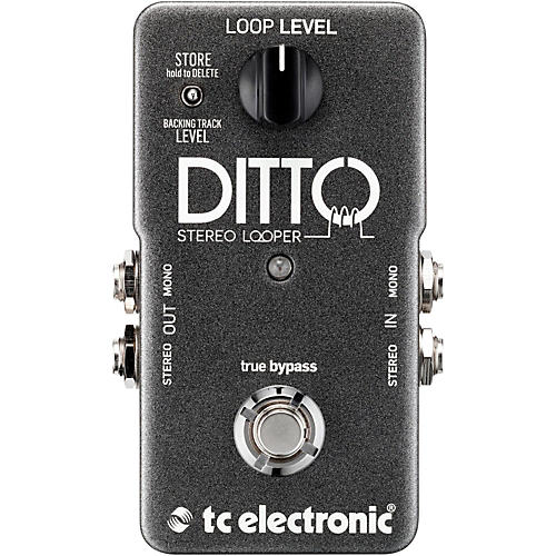 TC Electronic Ditto Stereo Looper Guitar Effects Pedal-thumbnail