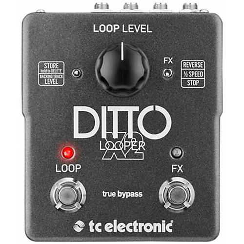 TC Electronic Ditto X2 Looper Effects Pedal-thumbnail